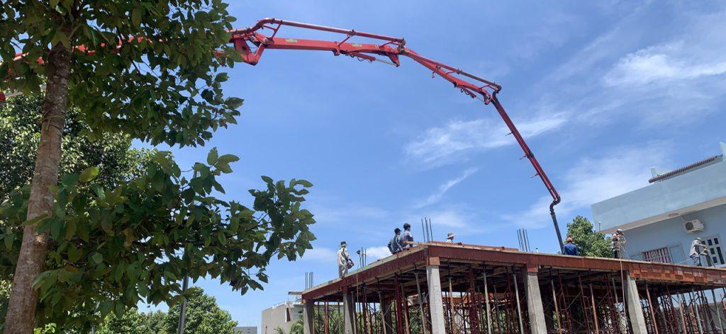 Báo giá bê tông tươi quận Tân Phú
